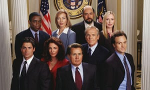 West wing episode guide booklet, from complete series dvd set.