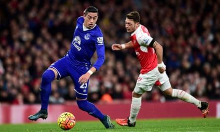 Everton's Ramiro Funes Mori