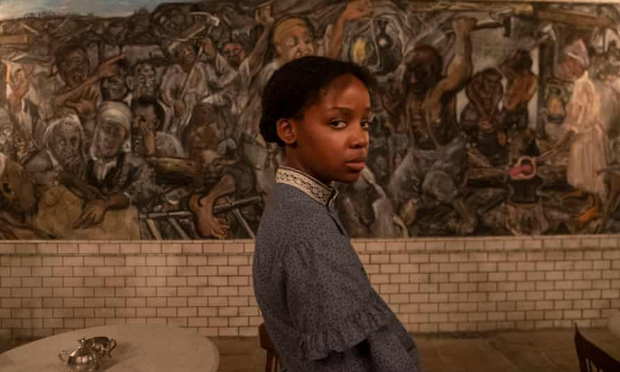 Thuso Mbedu plays the main character, Cora, in Barry Jenkins' screen adaptation of 'The Underground Railroad'