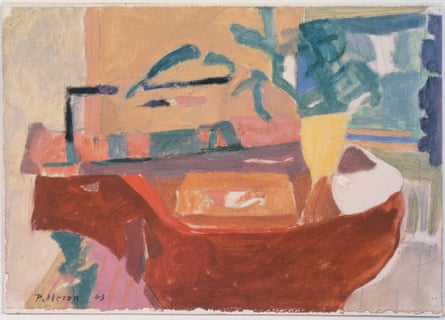 The Piano (1943) by Patrick Heron.