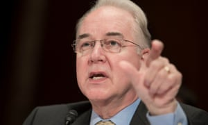 Health secretary Tom Price sparked furor when he compared addiction recovery medication to substituting one type of opioid for another.