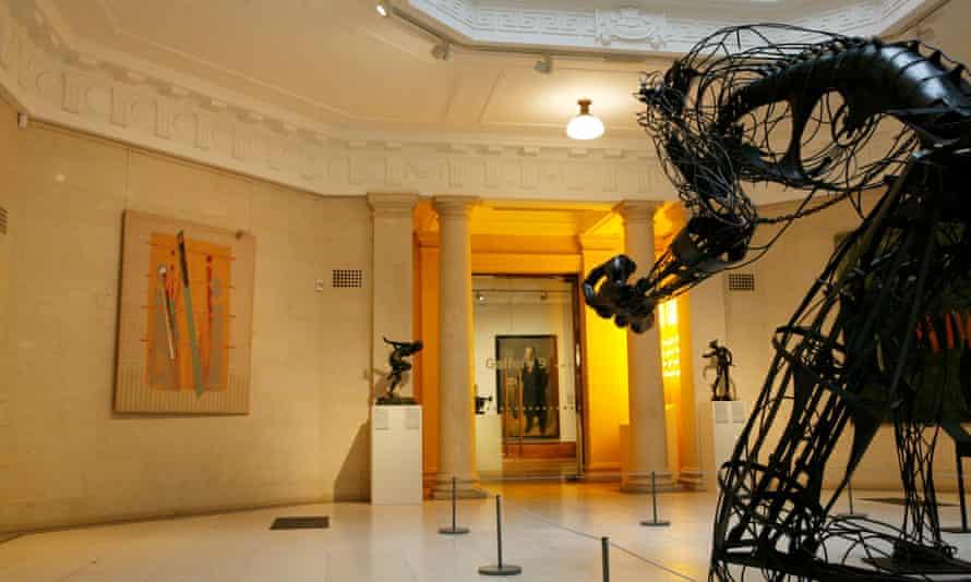 The restored Ferens art gallery