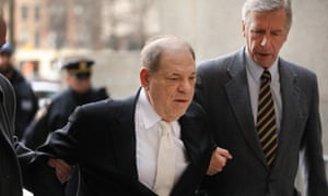 Harvey Weinstein arrives at his trial this week in New York.
