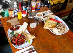 Lunch with…Caitlin Moran at Banner's, Couch End, North London,OFM, 12/02/2016