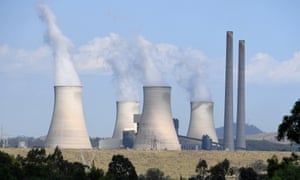 General view of the Bayswater power station, near Muswellbrook in the Hunter region of NSW,