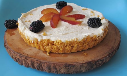 Felicity Cloake's perfect cheesecake.