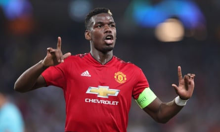 Paul Pogba Hits Double As Manchester United Start With Win At Young Boys Champions League The Guardian