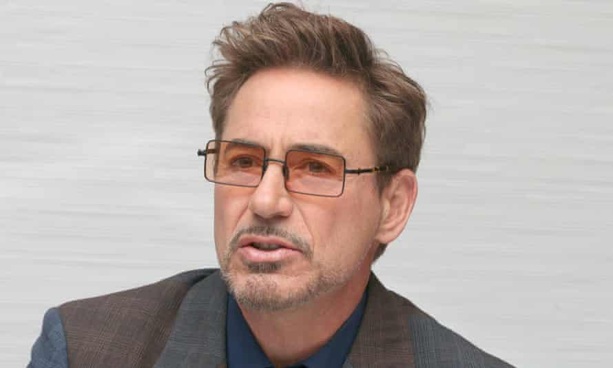 Robert Downey Jr in Los Angeles in April.