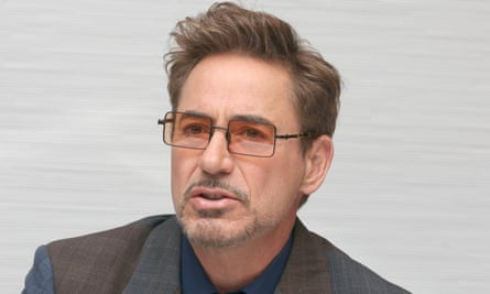 Robert Downey Jr in Los Angeles in April.