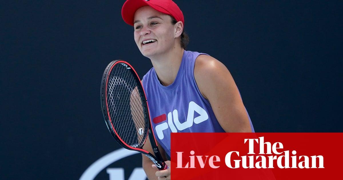Ashleigh Barty v Sofia Kenin: Australian Open semi-finals – live!
