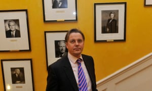 Jeremy Heywood on the main staircase at No 10 in 2011.