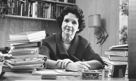'Rage on behalf of nature': Rachel Carson.
