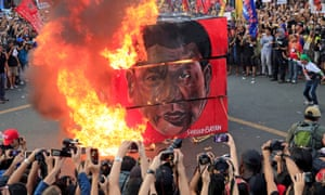 Rodrigo Duterte has 'unleashed a human rights calamity on the Philippines', says Human Rights Watch.