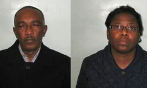 Emmanuel Edet and his wife Antan