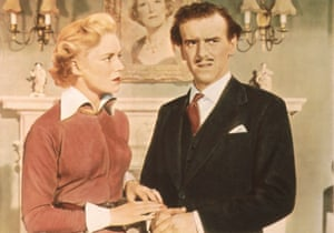 With Veronica Hurst in 1953 comedy Will Any Gentleman ...?