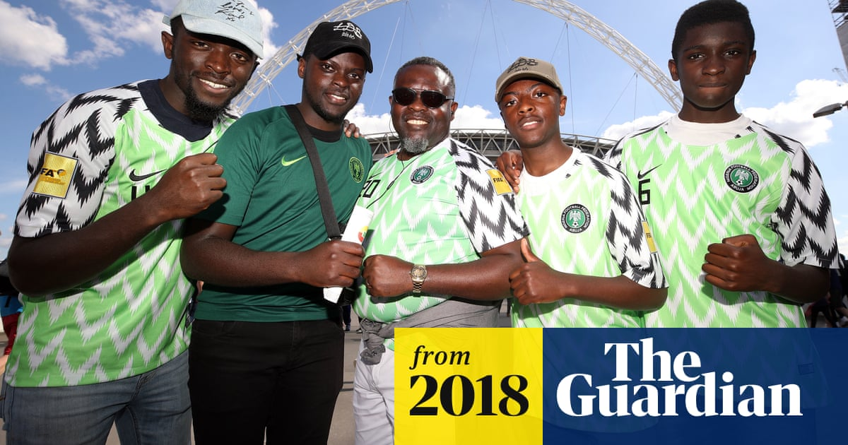 aa3f56ca3ad Nigeria World Cup football shirts capture public imagination ...