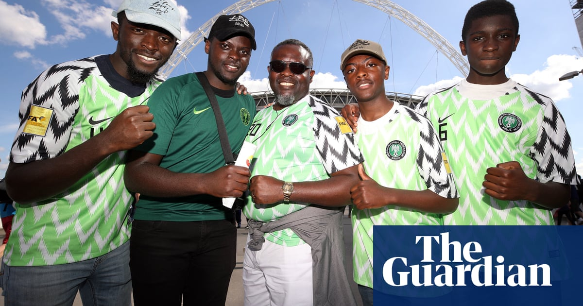 Nigeria World Cup football shirts capture public imagination ... 1c2c3e998
