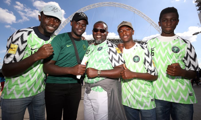 0550aee9772 Nigeria World Cup football shirts capture public imagination ...