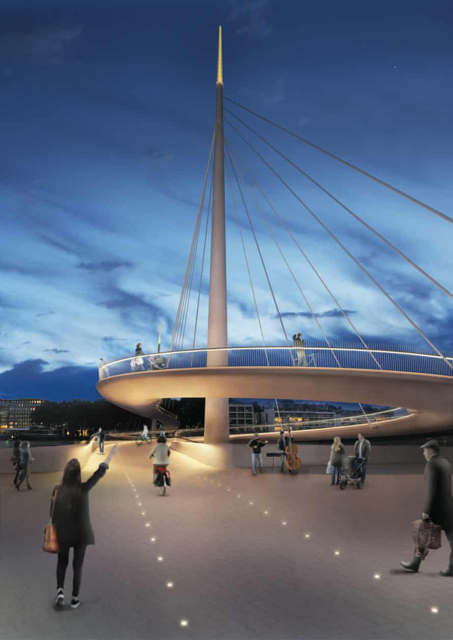 'As simple as possible' … the design is as compact as Port of London Authority regulations will allow.