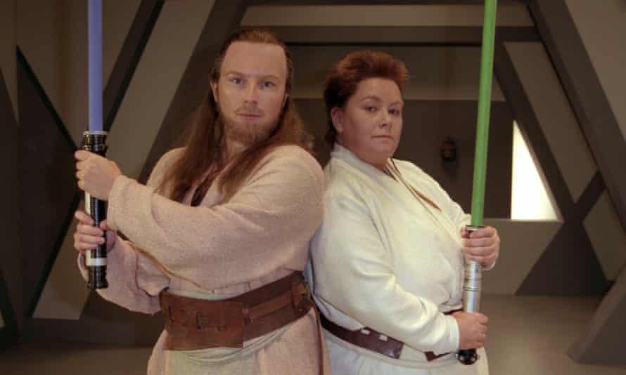 Parodying Star Wars for 1999's The Phantom Millennium.