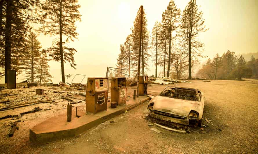 Investigators are also probing the company's role in the 2018 Camp fire, which killed dozens of people in and near the town of Paradise.