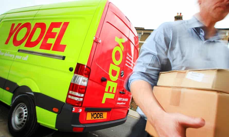 Yodel delivery van