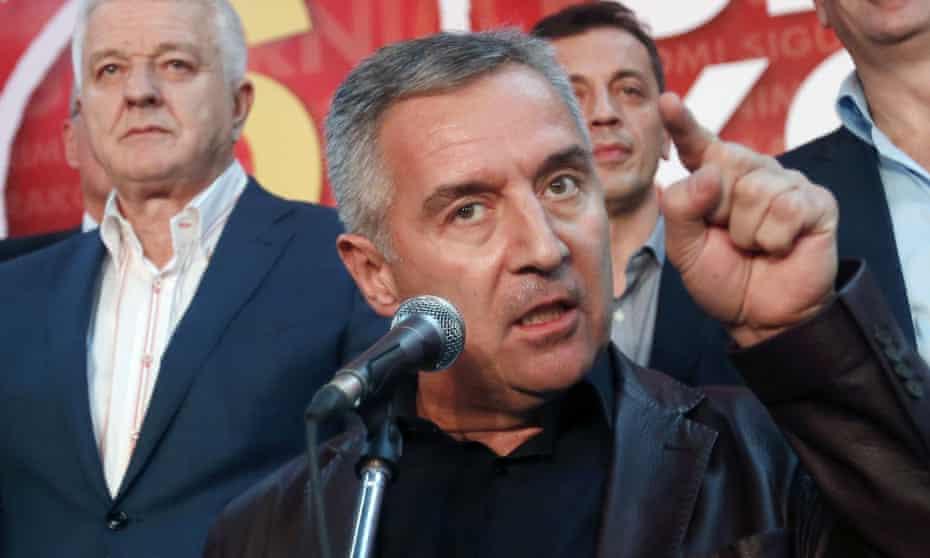 Milo Đukanović.
