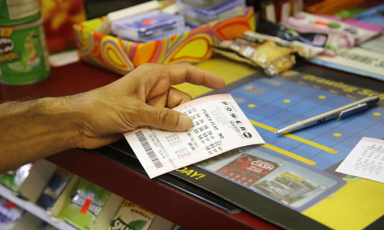 The odds of winning the Powerball jackpot are about one in 292m. Photograph: G-Jun Yam/AP