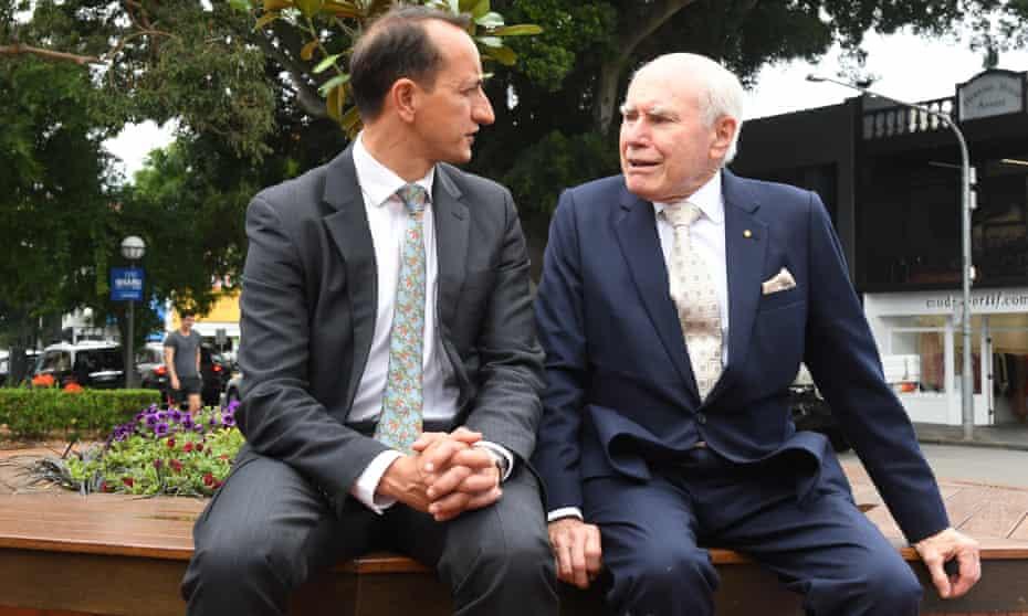 Dave Sharma and John Howard