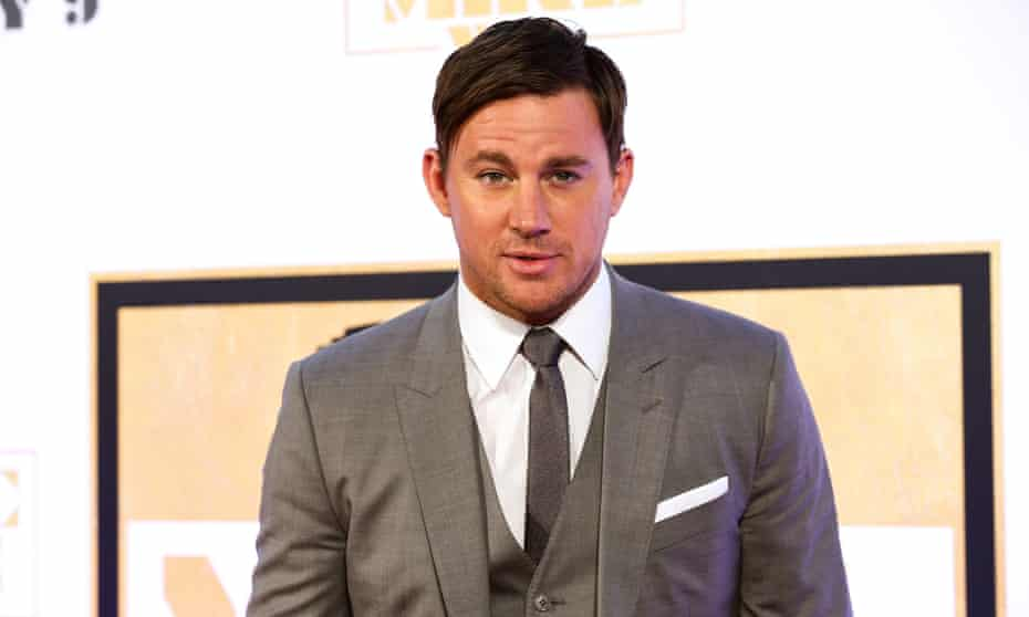 Channing Tatum: ready to don a tail.