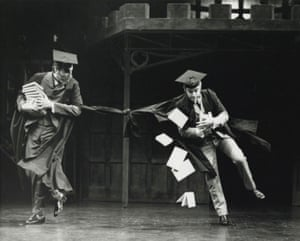 Goodbye Mr. Chips starring Robert Meadmore and Richard Freeman, 1982 at the Chichester Festival Theatre