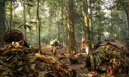 Baka tribe, Central Africa