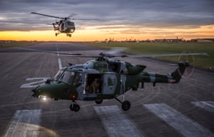 Lynx sunsetPhotographer of the year, first prize.  657 Sqn Army Air Corps Lynx landing in the Sunset at RAF Odiham, The Lynx helicopter was a fast agile platform that was used in the role of troop movements and sniper platforms.