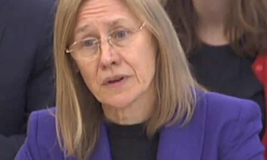 HM Revenue and Customs chief executive Lin Homer gives evidence to the public accounts committee