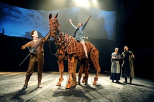 Mobilising for a mass puppet takeover … Warhorse at the New London theatre in 2009.