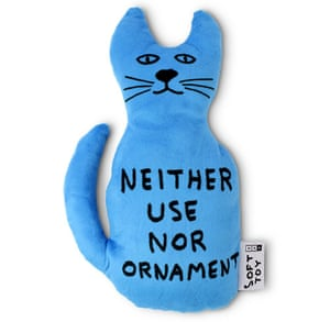 David Shrigley - Neither Use Nor Ornament Toy Cat.