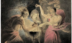 John Downman's Witches from Macbeth