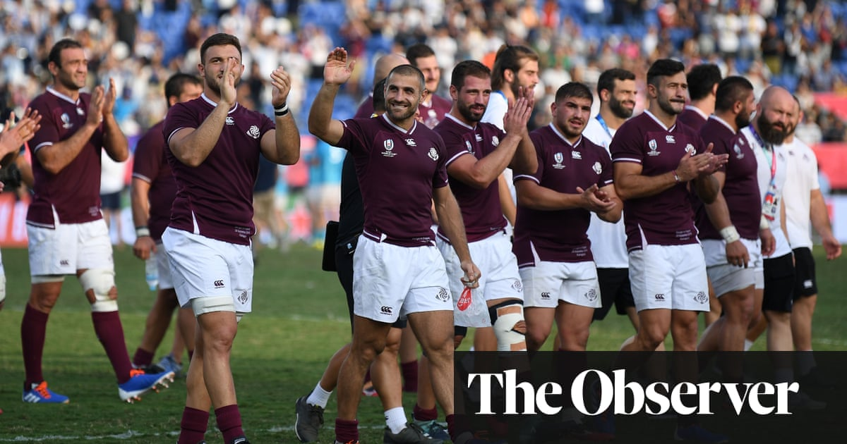 Georgia have chance to show they belong in Autumn Nations Cup | Matthew Janney