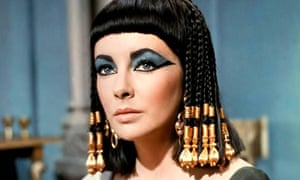 Cleopatra had a big, beautiful nose  So let's see it onscreen