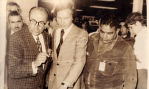 Roberto Kozak at the airport, helping MiR members into exile, handing them their visas and plane tickets.