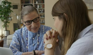 Ruth Bader Ginsburg and her granddaughter