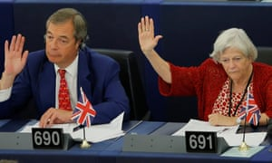 Ann Widdecombe (right) was at number three in the earnings charts, ahead of seventh-placed Nigel Farage (left).