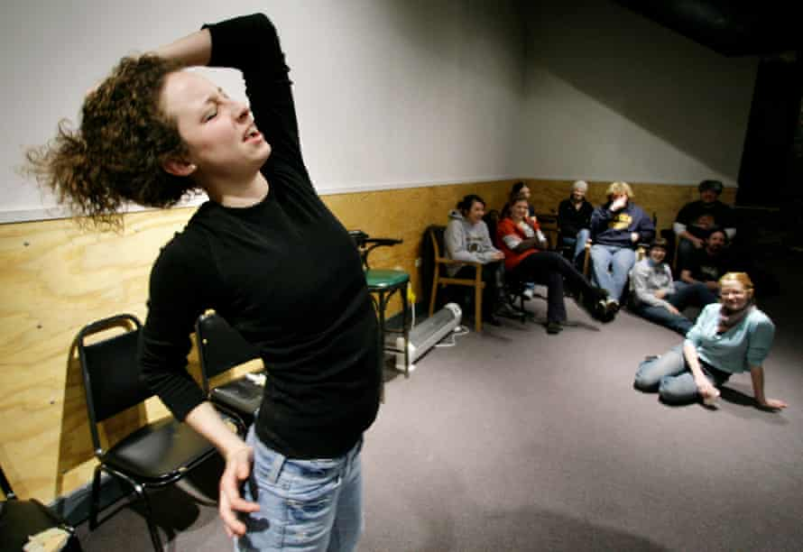 Theatre games … an improv class at The Second City.