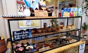 The Sea Shanty coffee shop, New Brighton, Merseyside