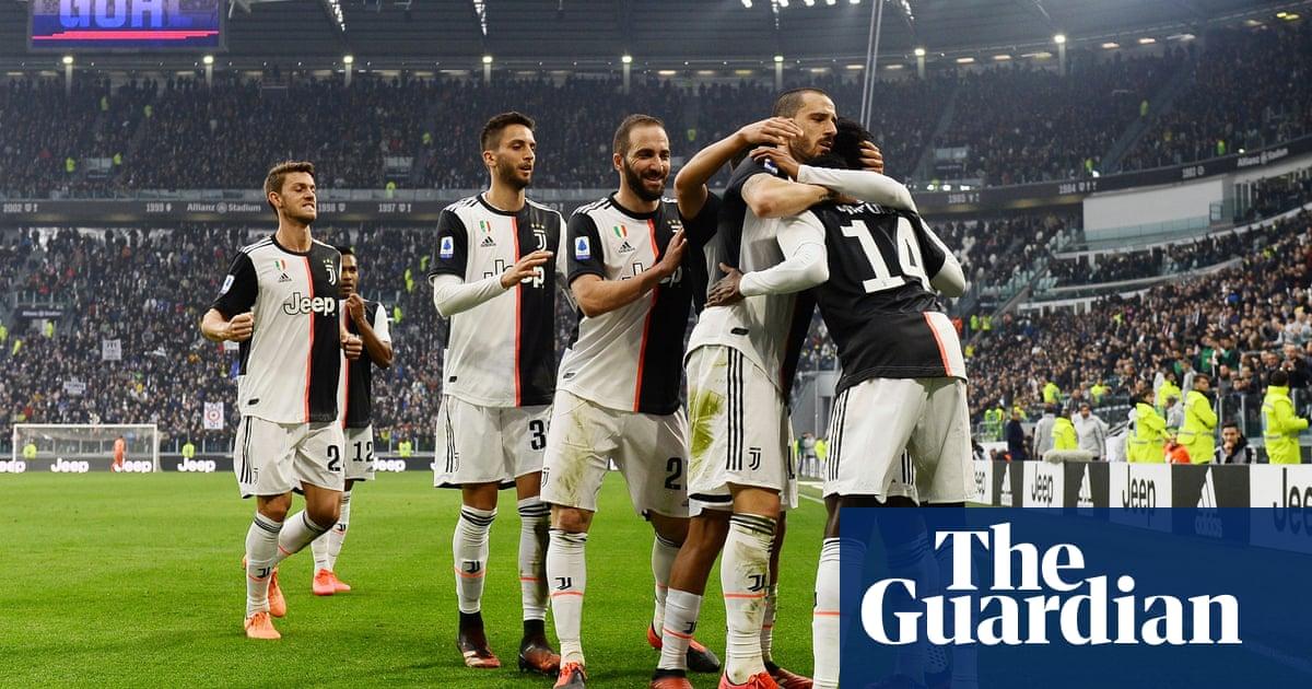 European football roundup: Juventus ease past 10-man Brescia to go top