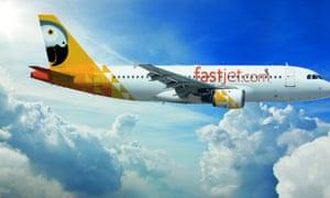 Fastjet  plane