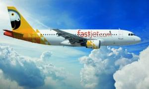 A Fastjet plane
