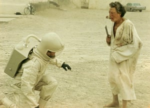 A scene from The Andromeda Strain (1970), directed by Robert Wise.
