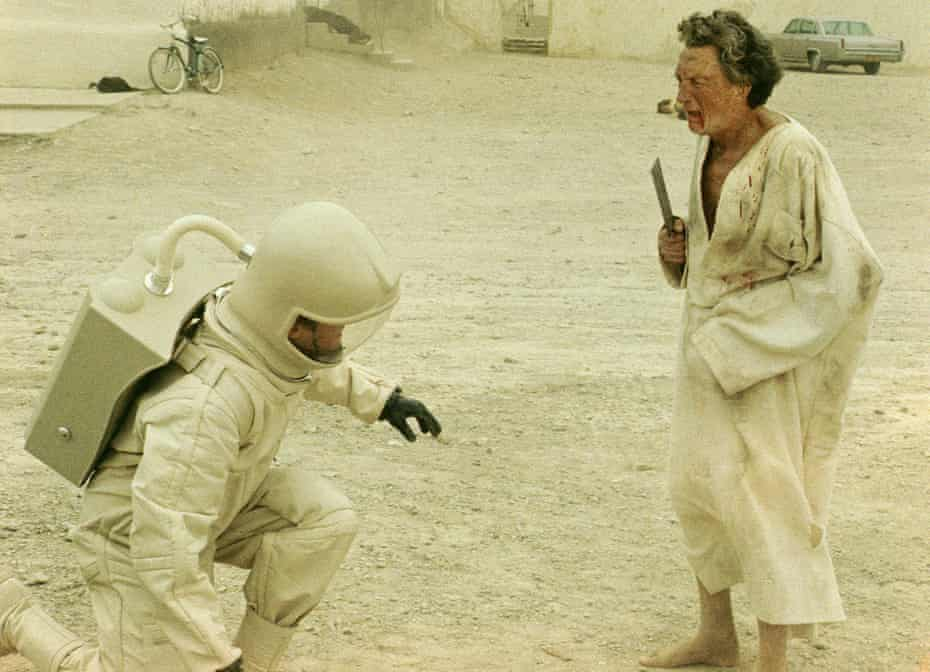 Sombre … the 1971 adaptation of Michael Crichton's The Andromeda Strain.