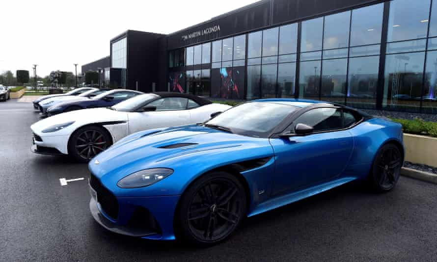 Aston Martin In Row Over Sock Puppet Pr Firm Pushing Anti Electric Vehicle Study Aston Martin The Guardian